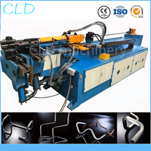 Full automatic cnc pipe bending machine pipe bender for 75mm or 3 inch tube new arrival ht11 3 in 1 tube bending machine 90 degree 1 4 5 16 3 8 inch tubing bender high quality