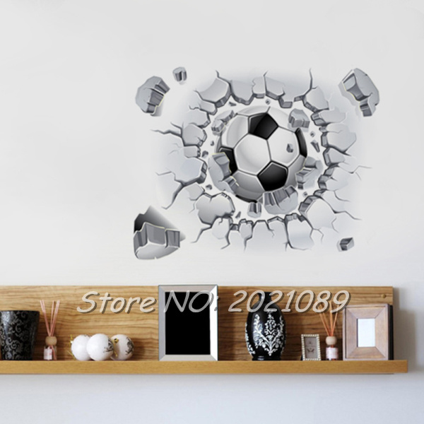 Soccer Wall Decor compare prices on soccer room decoration- online shopping/buy low