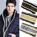 1 PC Mais Recente Moda cachecol estilo Coreano men Casual Quente Stripe Cashmeres Knitting Man Lazer Cachecol foulard de alta qualidade #48