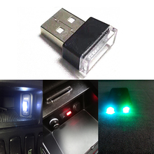 Mini Universal PC  Car USB LED Atmosphere Lights Decorative Lamp Emergency Lighting Portable Plug and Play Auto Products