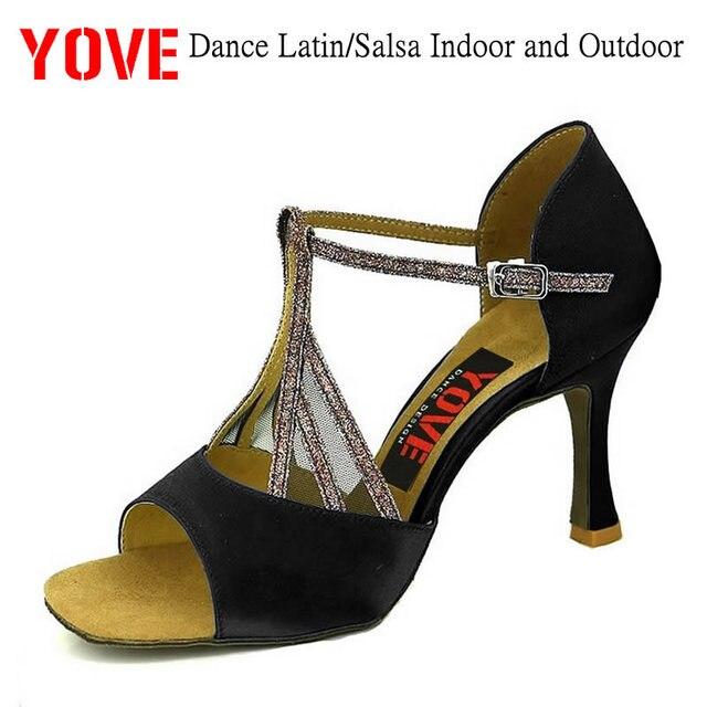 ee33a5d4 YOVE estilo w145-24 Danza Latina/Salsa de interior y al aire libre zapatos