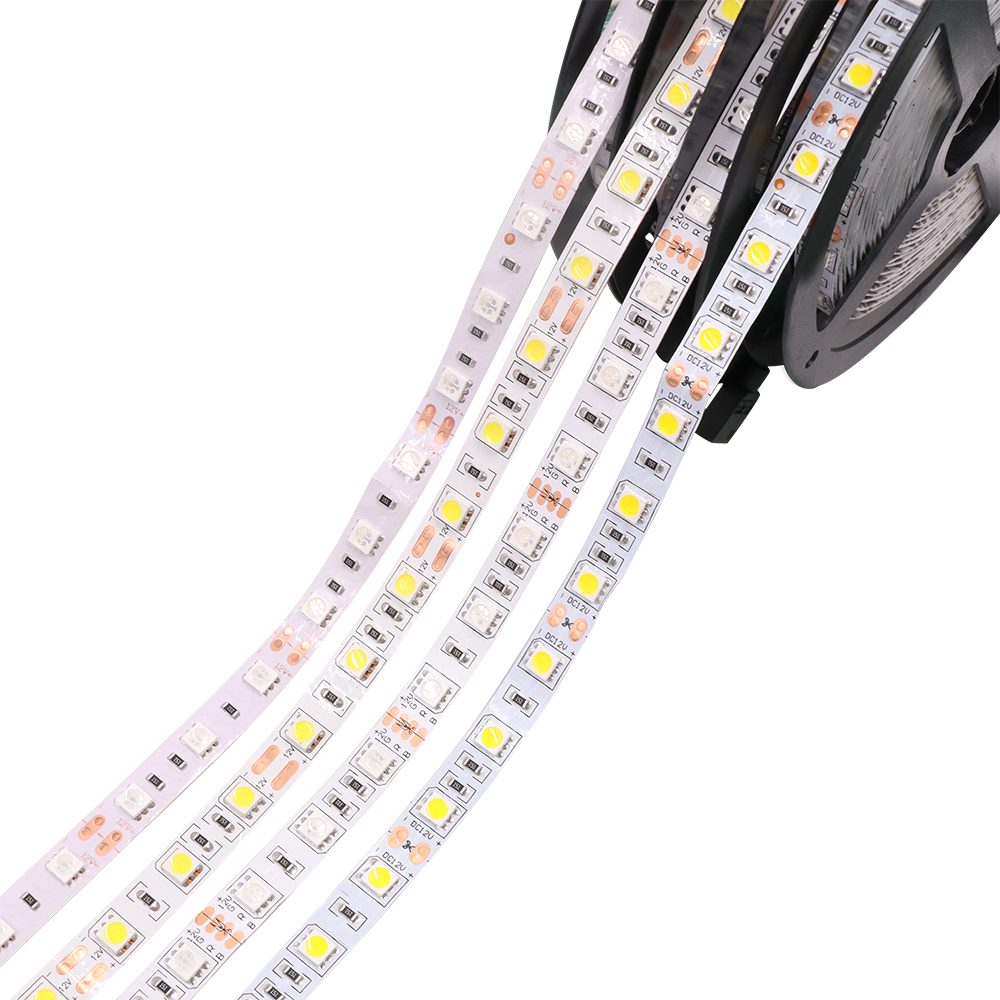цена на DC12V 5M 60LEDs/m 32.8Ft 5050 300 LED Strip Tape Light cool white/warm white/ red/green/blue/yellow/RGB Waterproof IP65 IP67