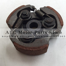 2 Stroke STEEL clutch pads springs for 47cc 49cc gas minimoto pocket bike mini dirt bike crosser quad atv motorcycle