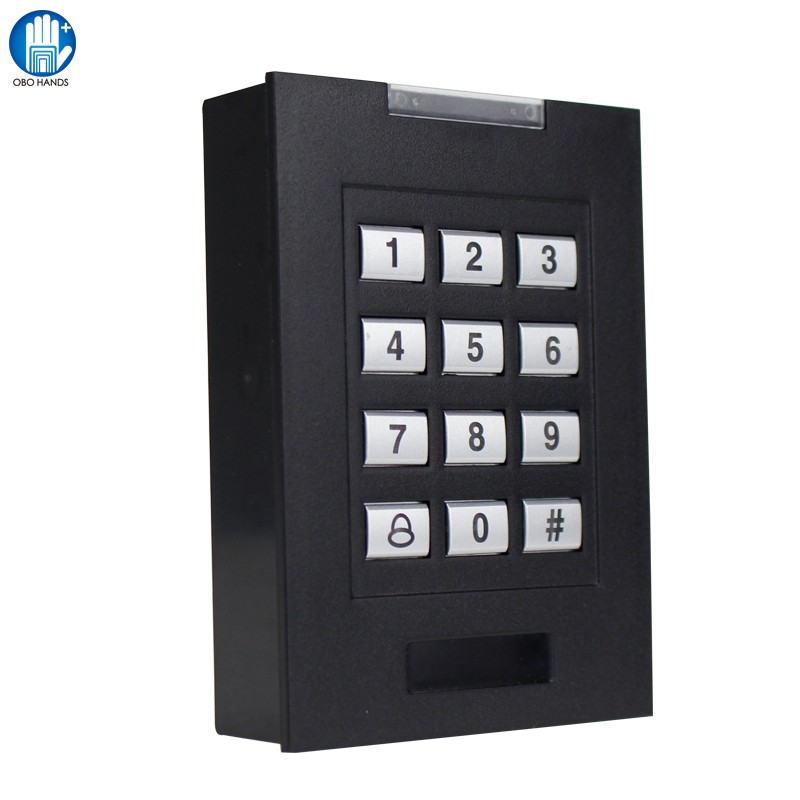 B1 RFID Access Control Access Control System 125KHz Card Reader Smart Password Locker System For Office double sided turnstile for access control system catracas tourniquetes