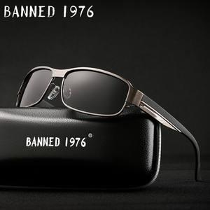 03b5ca6123d BANNED 1976 HD Polarized Men women Sunglasses Sun Glasses