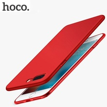 HOCO for iPhone 7 8 & 7 8 PLUS Matte Shell Premium Protective Cover Fashion Luxury Slim Case Thin Cases Anti-fingerprint Plastic