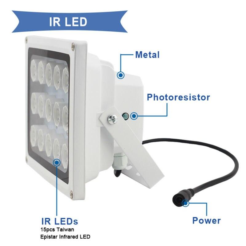 3-Night vision 8 LED Array Illuminator Lamp  SAE100-BG15ZL