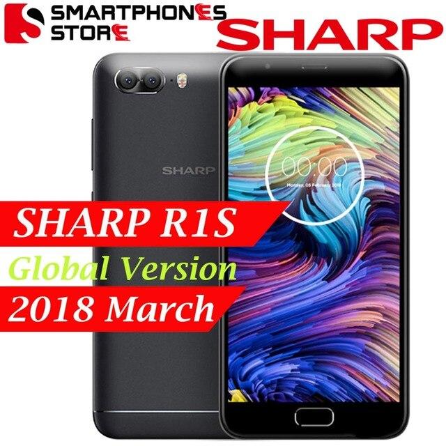 Global Version Multi Languages SHARP R1S FS8028 5.5 inch HD IPS 2.5D Curved MTK6750 Octa Core 3GB RAM 32GB ROM OS7.0 5000mAh