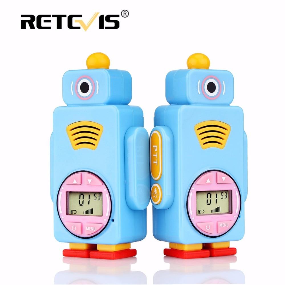 2 unids Retevis RT36 Mini Walkie Talkie para niños 0,5 W/8/14CH VOX PTT linterna de carga Micro USB niño Juguete/regalo de Navidad