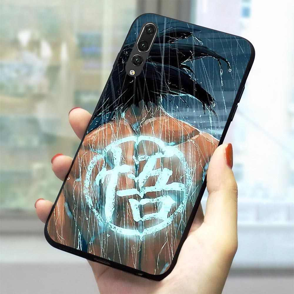 Dragon Ball Z Goku Soft TPU Case for Huawei P10 Lite Phone Cover for P20 P30 Pro Mate 10 20 P Smart 2019 P8 2017 P9 Mini 2018