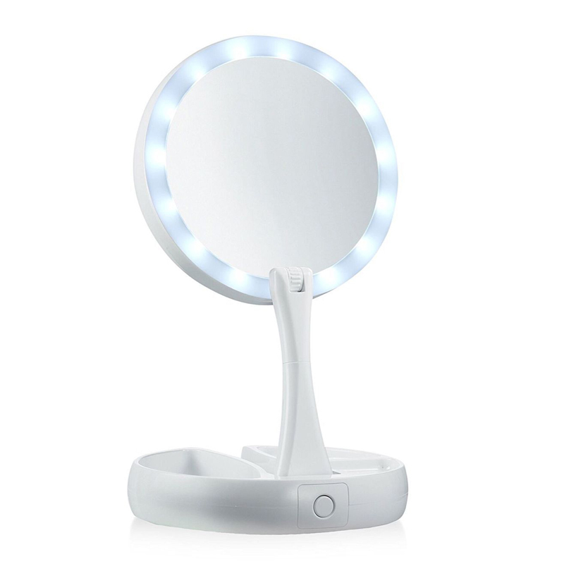 My-Fold-Away-Mirror-LED-Makeup-Mirror-Professional-10X-Vanity-Mirror-with-Lights-Health-Beauty-Adjustable (4)
