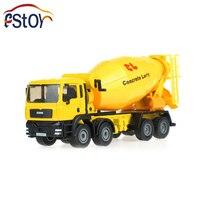 Mieszalniki Betonu Ciężarówki Ciężarówki Z Odlewu Stopu metalu Model 1:50 Ciężarówka Cementu cysterna Ciężarówka Inżynieria Kolekcja Toy