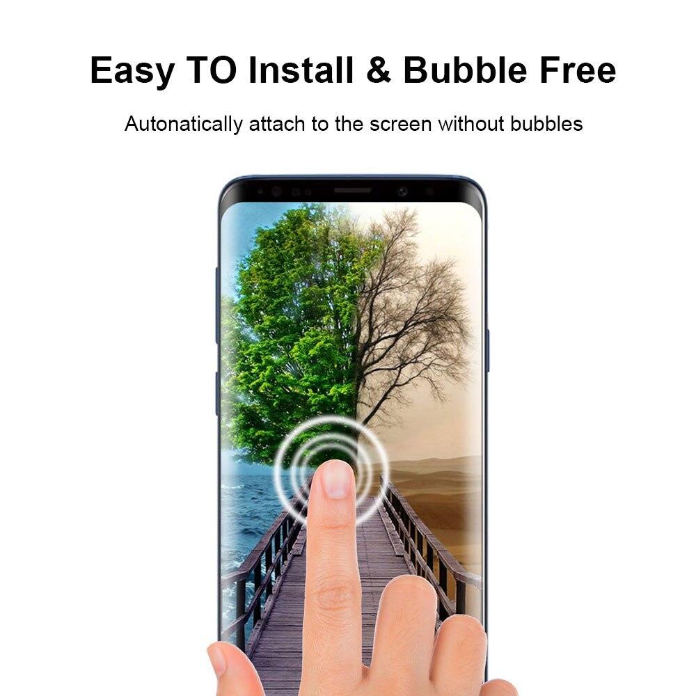 Vidrio Templado frontal CS07 para Apple iPhone X s 6 S 7 8 Plus protector de pantalla a prueba de arañazos