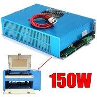 AC 110 В 150 Вт лазерной Питание высокое Скорость синий для co2 лазерная гравировка Резка машины видимый свет с кабелем