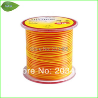 Free Shipping HLN03 500M High Quality Nylon Fishing Line Double Color