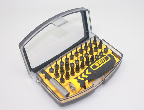 32pcs in 1 Screwdriver Kit Set Realistic Type Repair Tools Kit for Cell Phone PC Laptop Maintenance Best 21068