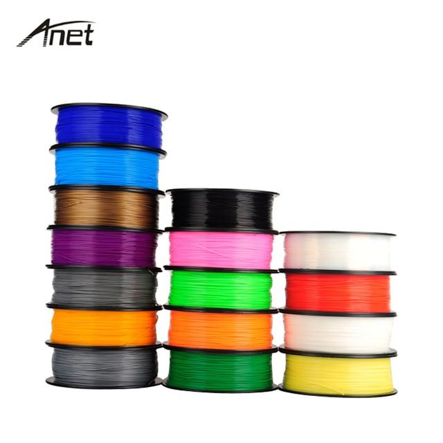 10PCS 1.75MM 1KG/PC PLA ABS 3D Printer Filament For 3D Pen Rubber Ribbon Consumables Material DIY Filament For 3D Printer