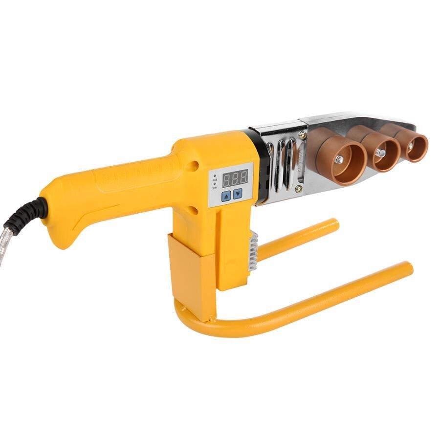 Труба паяльник пластиковая Сварка 750 Вт PPR труба сварочная машина труба Электрический нагрев Горячий инструмент для плавления 20 мм/25 мм/32 мм