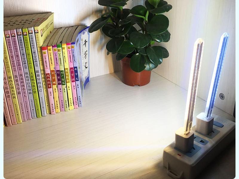 DC 5 В Мини светодиодный Ночной светильник, портативный 10 светодиодный s 24 светодиодный s USB настольная лампа для чтения, сгибаемый удлинитель, адаптер для США, книжный светильник s