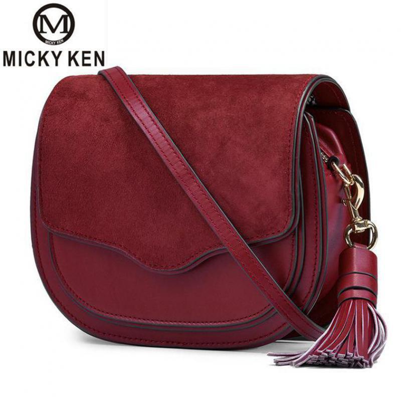 Hot en cuir véritable gland sacs à bandoulière pour femmes 2019 sacs à Main de luxe femmes sacs Messenger dames en cuir Sac à Main Sac à Main