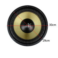 ar Speaker Gold 250W 12 Inch Speakers Modified Dedicated Super Power Subwoofer Car Audio Automobile Bass Loudspeakers