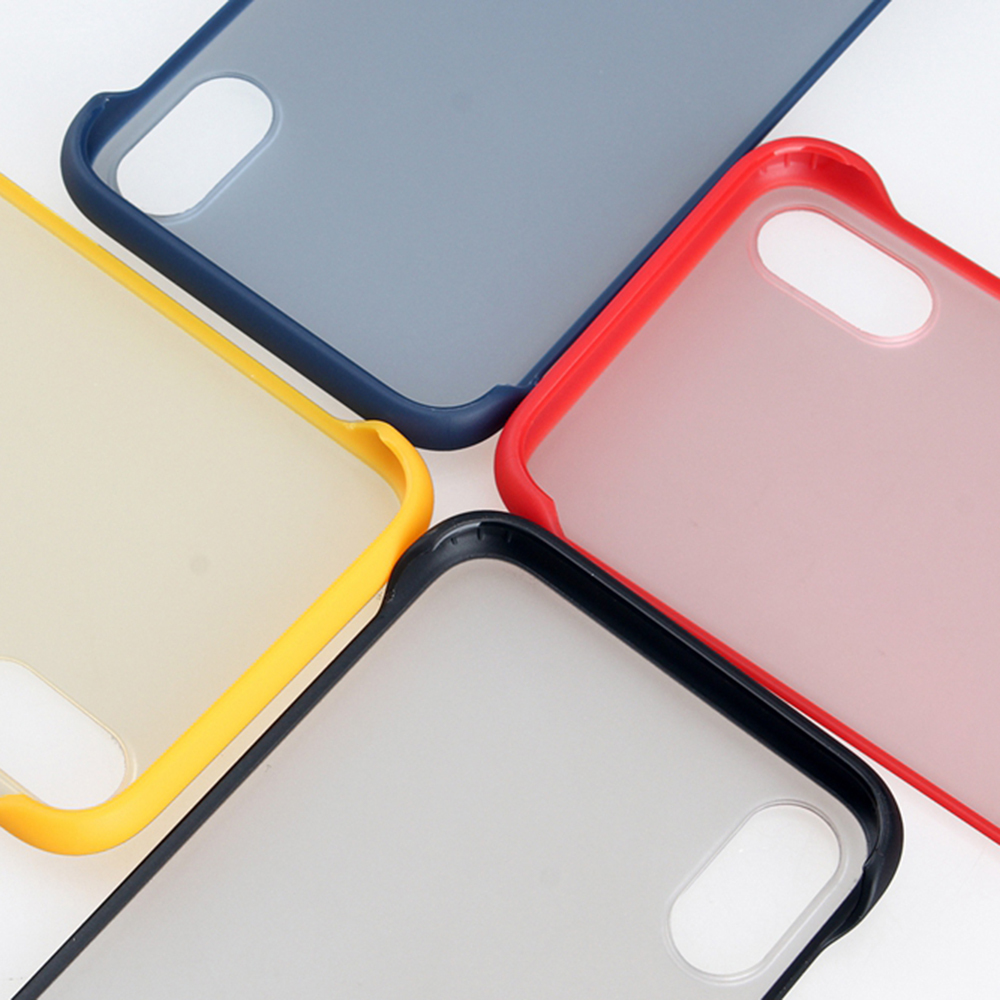Colorful TPU Case For iPhone XS XR Ultra thin Transparent Phone Case For iPhone 7 8 Shockproof Case with ring For iPhone 6 6s in Half wrapped Cases from Cellphones Telecommunications