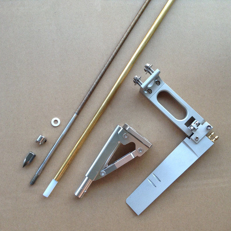 6.35mm Soft Shaft+Shaft Bracket+Propeller Crutch+Gasket+400mm Copper Tube+Plastic Tube+160mm Suction Rudder for Gasoline Boat 1set 160mm dual suction steering wheel rudder 100mm shaft bracket diameter 6 35mm soft shaft bracket for rc boat spare parts