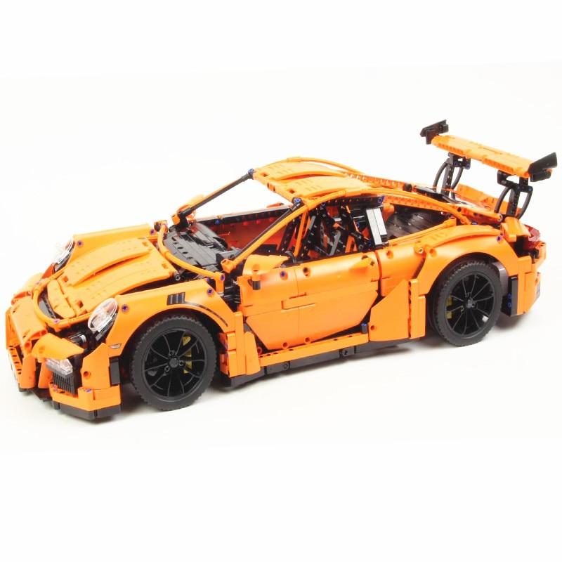 20001 20001B 2758pcs Technic Series รถแข่ง Compatible 42056 อาคารบล็อกคริสต์มาสของขวัญของเล่นเด็ก-ใน บล็อก จาก ของเล่นและงานอดิเรก บน   2