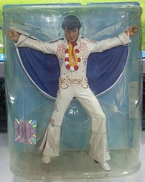 figure Star rock singer Elvis Presley doll sucker doll car ornaments out of print