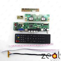 TV Için HDMI VGA USB CVBS RF LCD Denetleyici Kurulu 23