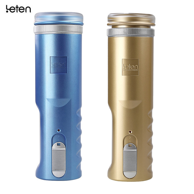 Leten Thrusting Piston Retractable Electric Real Vagina Pocket Pussy,Male Masturbator Stroker Cup,Automatic Sex Toy Products Man electric automatic retractable male masturbator cup vagina anal sex toys for men sex products