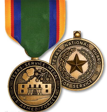 US $423 5 23% OFF|Custom medals hot sale usa military medals high quality  metal commendation medal cheap oem medal with ribbons pin-in Non-currency