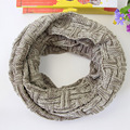 Autumn and winter caddice knitting colour mixture scarf Thickening and warming men women all match shawl collar scar