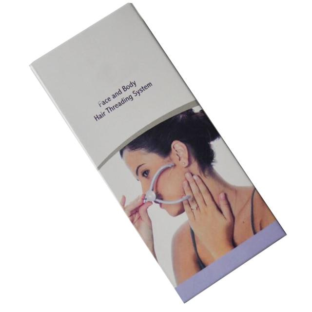 Body Facial Spring Threading Epilator Hair Remover Defeatherer Slique DIY Makeup Beauty Tool For Cheek Eyebrow Face Care Machine 5