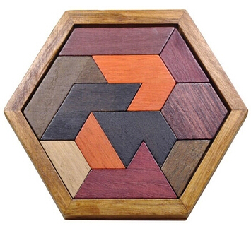 Classic Quality IQ Wooden Mrain Teaser Burr Puzzles Game for - Ойындар мен басқатырғыштар - фото 2