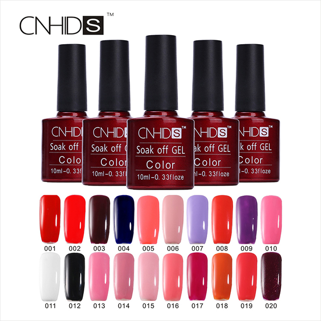 50PCS Nail Gel Polish UV&LED Shining Colorful 132 Colors10ML Long lasting soak off Varnish cheap Manicure  Nail Gel Decorating
