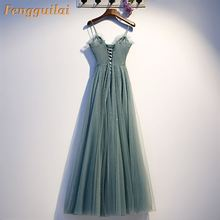 FENGGUILAI Sexy  Women Summer Sleeveless V-Neck Backless Vintage Long Boho Party Cocktail Casual Loose Beach Green Dress