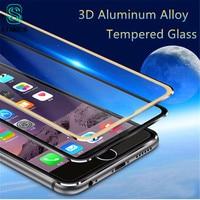 Protector de pantalla de vidrio templado de aleación ultrafina 3D, película protectora de pantalla completa 9H, Protector antiarañazos para iPhone 6 7S Plus, Kit de limpieza iPhone10