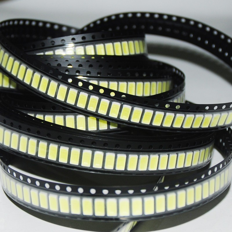 100pcs 2835 Warm White Smd Led Lamp Light Emitting Diode Light Bulb Strip Conduct