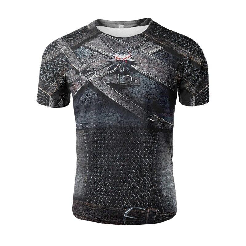 Yelite batalha armadura 3d impressão t camisa antigo guerreiro romano roupas legal hipster homens verão manga curta estilo vintage camiseta