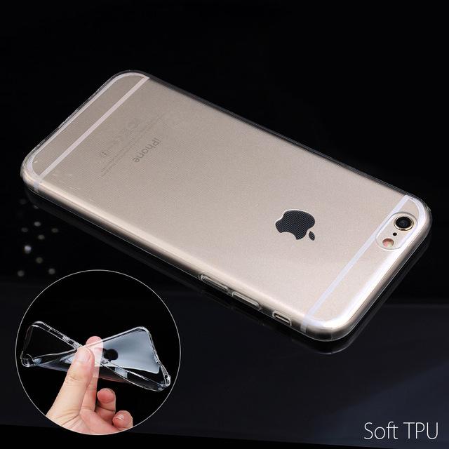 Marvel Comics Soft Phone Case For iPhone 7 7Plus 6 6S 6Plus 5 5S SE 5C