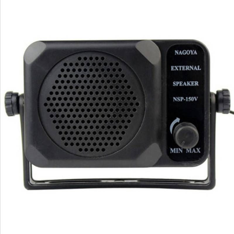 Mini External Speaker CB Radio  NSP-150v Ham For HF VHF UHF Hf Transceiver CAR RADIO Qyt Kt8900 Kt-8900 7900D 8900R ANYTONE 7900