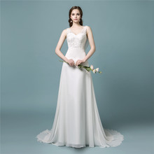Bride Dress Bohemian Cheap A Line Lace Boho Wedding Dress Sexy Beach Wedding Dress