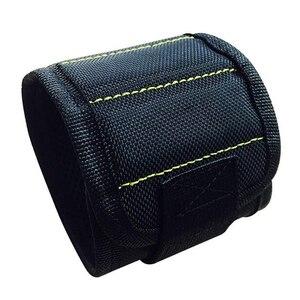 370 мм нейлоновые наручные сильные магнитные гвозди винт держатель Сверла браслет держатель сумка для ручных инструментов браслет ремень автомобильный набор для ремонта