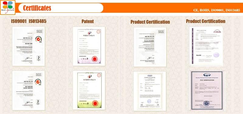 7 certificates