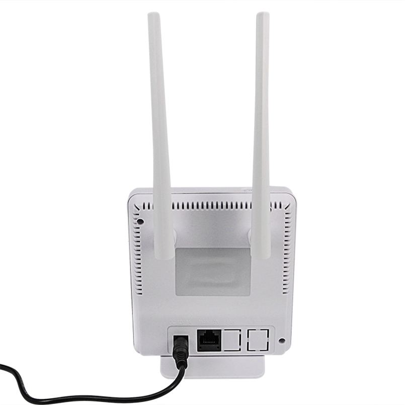 TIANJIE RJ45 WAN/LAN порт 4G LTE разблокированный 300 Мбит/с CPE беспроводной Wi-Fi маршрутизатор с 2 внешними антеннами точка доступа Модем слот для sim-карты