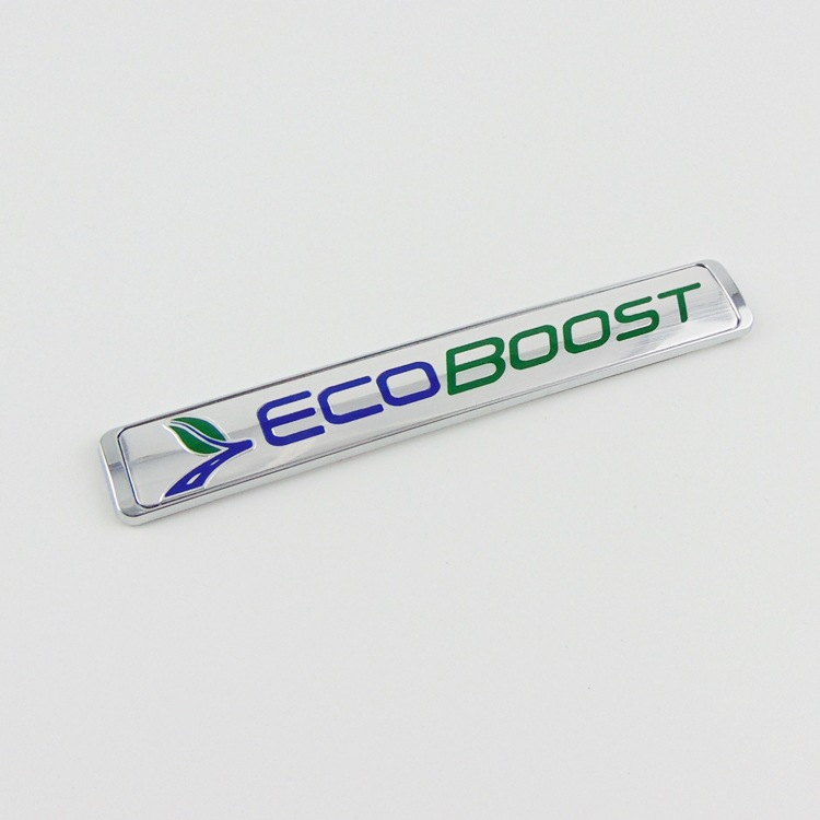 Ecoboost Tail Sport Logo Sticker Special Metal car logo Decorative stickers for Ford Focus Fiesta Kuga Escape car styling