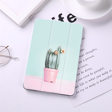 Painted Flip Case For iPad Mini 5 4 3 2 1 Tablet Case for iPad Mini 1 2 3 PU Leather Cover Frost Back недорого