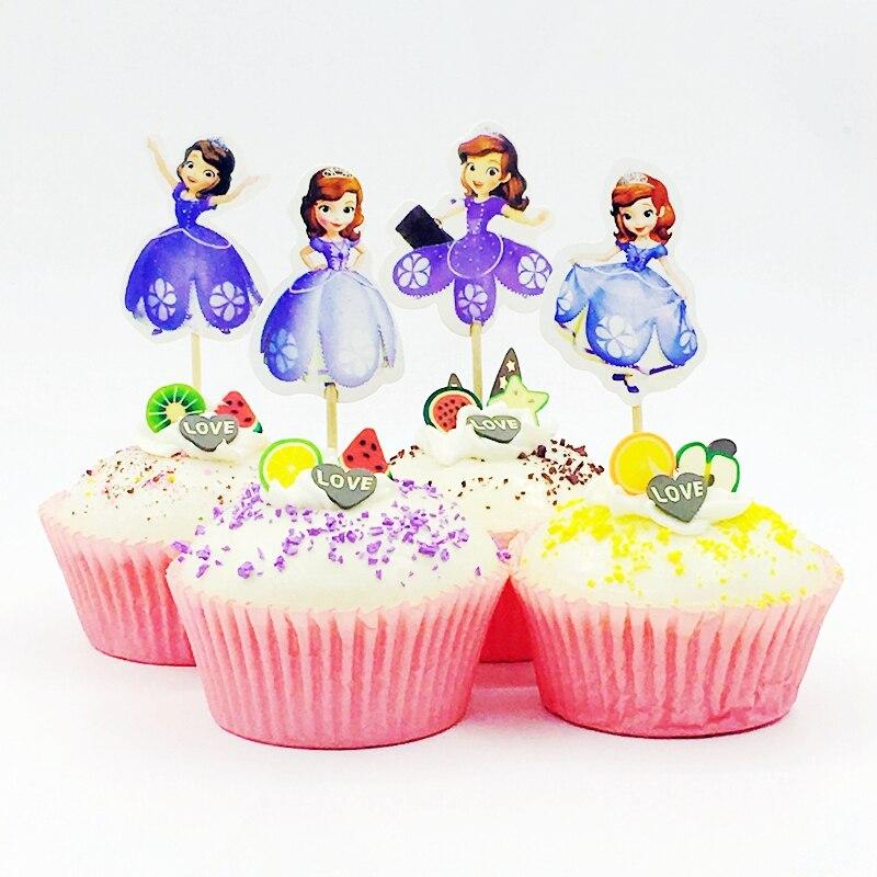48 pièce bleu flocons de neige cupcake decorating kit cas /& picks noël//frozen