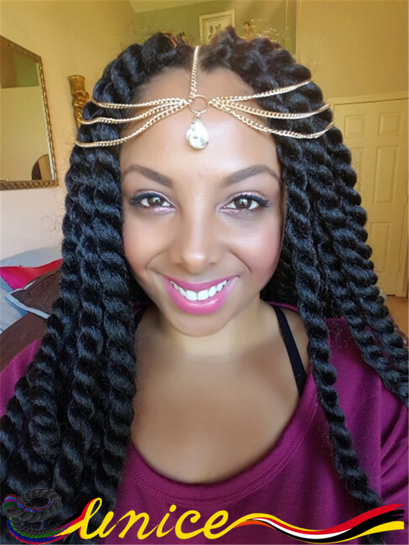 African Braids Hairstyles Black Women Hair 22 2pcs Synthetic Crochet Havana Mambo Twist Extensions 12roots Per Pack On Aliexpress